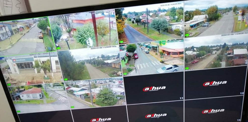 COMUNA DE GORBEA CONTARÁ CON 43 CÁMARAS DE TELEVIGILANCIA INTERCONECTADAS.